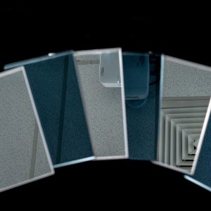 Toughened Mirror Samples