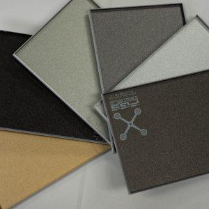 Metallic Paint Samples